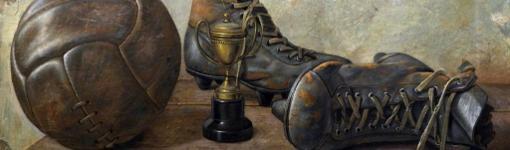 "Detalle de ""Botas de fútbol"" de Renzo Renedo"