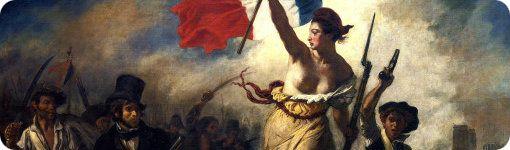 "Detalle de ""La Libertad"" de Delacroix"